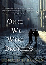 Download PDF Once We Were Brothers (Liam Taggart and Catherine Lockhart) Full