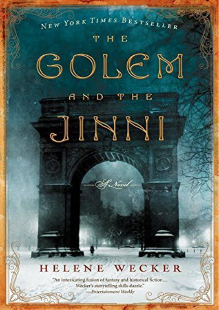 [PDF] Download The Golem and the Jinni (P.S.) Full