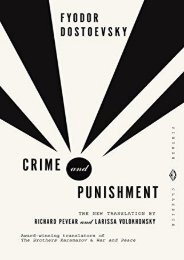 [PDF] Download Crime and Punishment: A Novel in Six Parts with Epilogue (Vintage Classics) Online