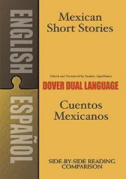 [PDF] Download Mexican Short Stories/Cuentos Mexicanos (Dover Dual Language Spanish) Full