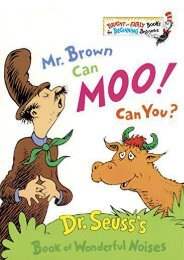 [PDF] Download Mr. Brown Can Moo! Can You? (Bright   Early Book) Online