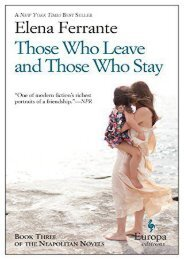 Download PDF Those Who Leave and Those Who Stay: Neapolitan Novels, Book Three: 3 Online
