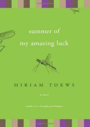 Download PDF Summer of My Amazing Luck: A Novel Full
