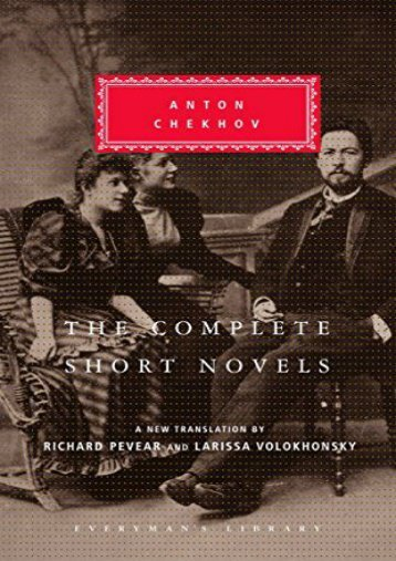 Download PDF The Complete Short Novels (Everyman s Library Classics   Contemporary Classics) Online