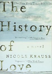 [PDF] Download The History of Love: A Novel Full