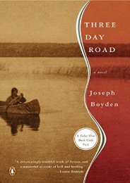 Download PDF Three Day Road Online