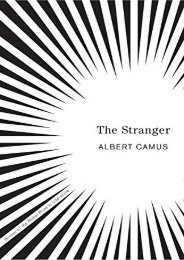 Download PDF The Stranger (Vintage International) Full