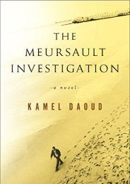 [PDF] Download The Meursault Investigation Full