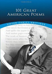 [PDF] Download 101 Great American Poems: An Anthology (Dover Thrift S.) Online