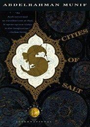 [PDF] Download Cities of Salt: A Novel (Vintage International) Full