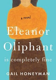 Download PDF Eleanor Oliphant Is Completely Fine (Thorndike Press Large Print Basic) Online