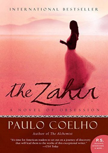 Download PDF The Zahir: A Novel of Obsession Full