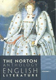 [PDF] Download The Norton Anthology of English Literature: 1 Full