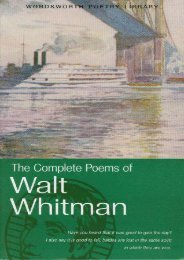 Download PDF The Complete Poems of Walt Whitman (Wordsworth Poetry Library) Full