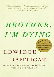 Download PDF Brother, I m Dying (Vintage Contemporaries) Online