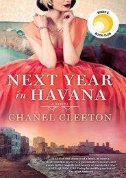 Download PDF Next Year in Havana Full
