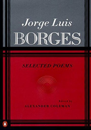 Download PDF Selected Poems Online
