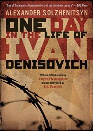 Download PDF One Day in the Life of Ivan Denisovich Full