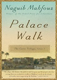 Download PDF Palace Walk (Cairo Trilogy) Online