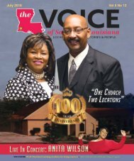 The Voice of Southwest Louisiana July 2018 Issue