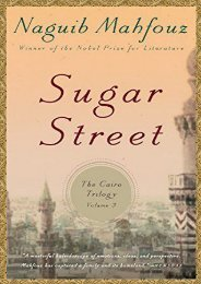 Download PDF Sugar Street (Cairo Trilogy) Full
