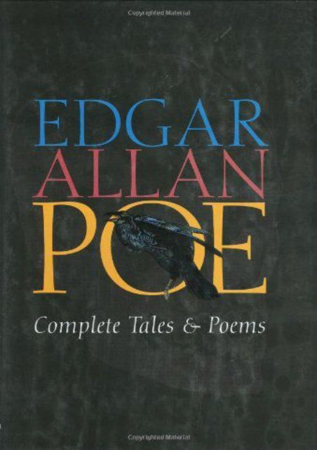 Download PDF Edgar Allan Poe Complete Tales and Poems