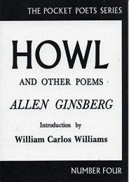 Download PDF Howl and Other Poems (City Lights Pocket Poets Series) Online