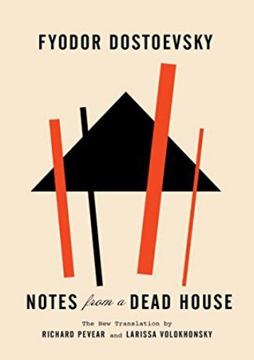 [PDF] Download Notes from a Dead House (Vintage Classics) Online