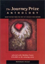 Download PDF The Journey Prize Anthology: Short Fiction from the Best of Canada s New Writers: 11 (Journey Prize Stories: Short Fiction from the Best of Canada s New Writers) Online