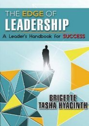 Download PDF The Edge of Leadership: A Leader s Handbook for Success Online