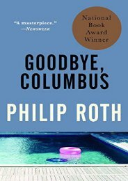 Download PDF Goodbye, Columbus: And Five Short Stories (Vintage International) Full