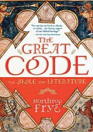 Download PDF The Great Code the Bible and Literature Full