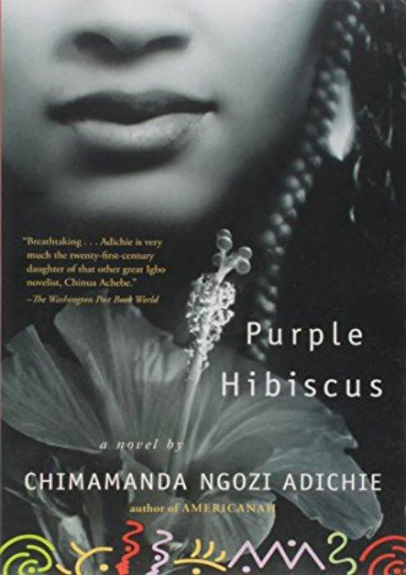 Pdf Download Purple Hibiscus Full