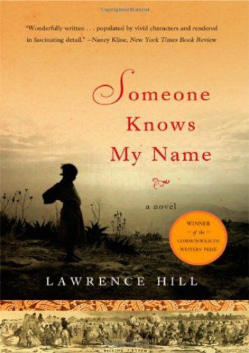 Download PDF Someone Knows My Name: A Novel Online