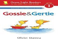[+]The best book of the month Gossie and Gertie (Reader) (Green Light Readers: Level 1)  [FULL]