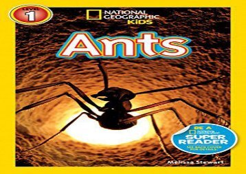 [+]The best book of the month National Geographic Kids Readers: Ants (National Geographic Kids Readers: Level 1 )  [FULL]