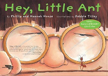 [+][PDF] TOP TREND Hey Little Ant  [READ]
