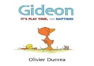 [+]The best book of the month Gideon: It s Play Time, Not Naptime! (Gossie   Friends)  [FREE]