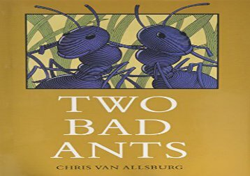 [+]The best book of the month Two Bad Ants  [FREE]