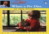 [+][PDF] TOP TREND When a Pet Dies (Mr. Rogers)  [DOWNLOAD]