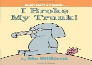 [+][PDF] TOP TREND I Broke My Trunk! (Elephant   Piggie Books) [PDF]