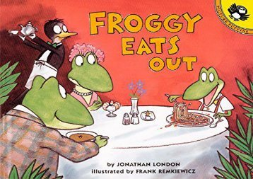 [+]The best book of the month Froggy Eats Out  [FREE]