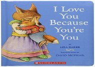 [+]The best book of the month I Love You Because You re You  [NEWS]