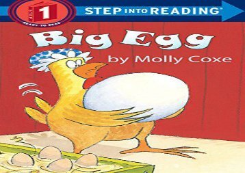 [+][PDF] TOP TREND Big Egg Step Into Reading Lvl 1 (Early Step into Reading)  [DOWNLOAD]
