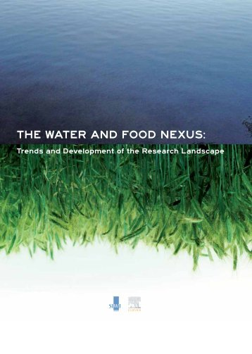 THE WATER And FOOd nExus: