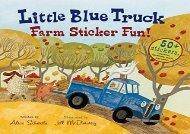 [+]The best book of the month Little Blue Truck Farm Sticker Fun!  [FREE]
