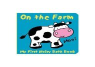 [+][PDF] TOP TREND Animals on the Farm: My First Noisy Bath Book (My First Noisy Bath Books)  [DOWNLOAD]