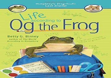 [+][PDF] TOP TREND Life According to Og the Frog  [FREE]