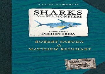 [+]The best book of the month Encyclopedia Prehistorica Sharks and Other Sea Monsters Pop-Up (Sabuda Encyclopedias) [PDF]