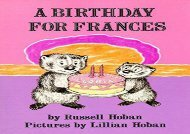 [+][PDF] TOP TREND A Birthday for Frances (Trophy Picture Books (Paperback))  [FREE]
